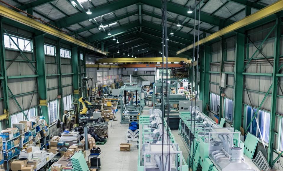 画像:組立工場
