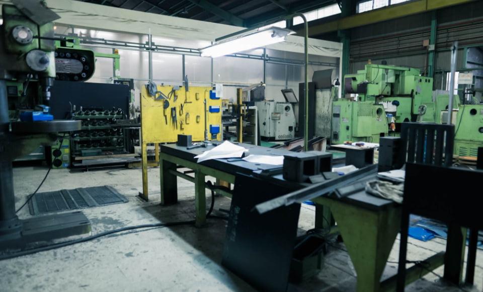 画像:加工工場