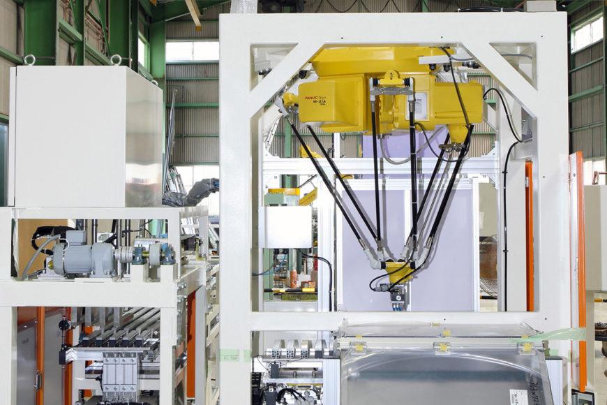 げんこつロボット導入 FANUC(ファナック) Robot M-2iA
