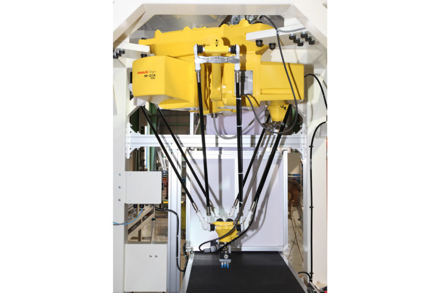 FANUC製ゲンコツロボット( FANUC Robot M-2iA)導入例
