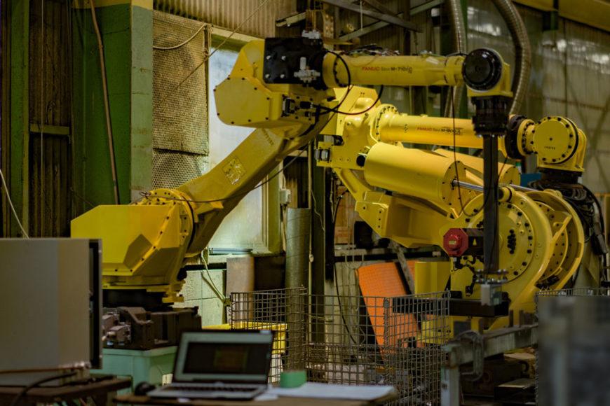 テスト用多関節ロボット